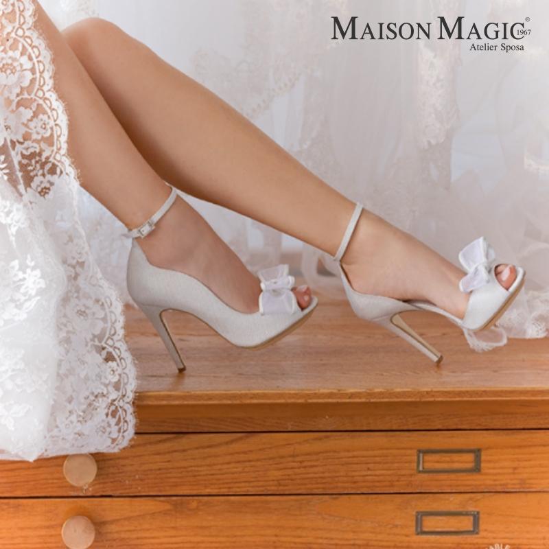 Scarpe Sposa Negozi.Scarpe Da Abiti Da Sposa Maison Magic Napoli 2 Maison Magic