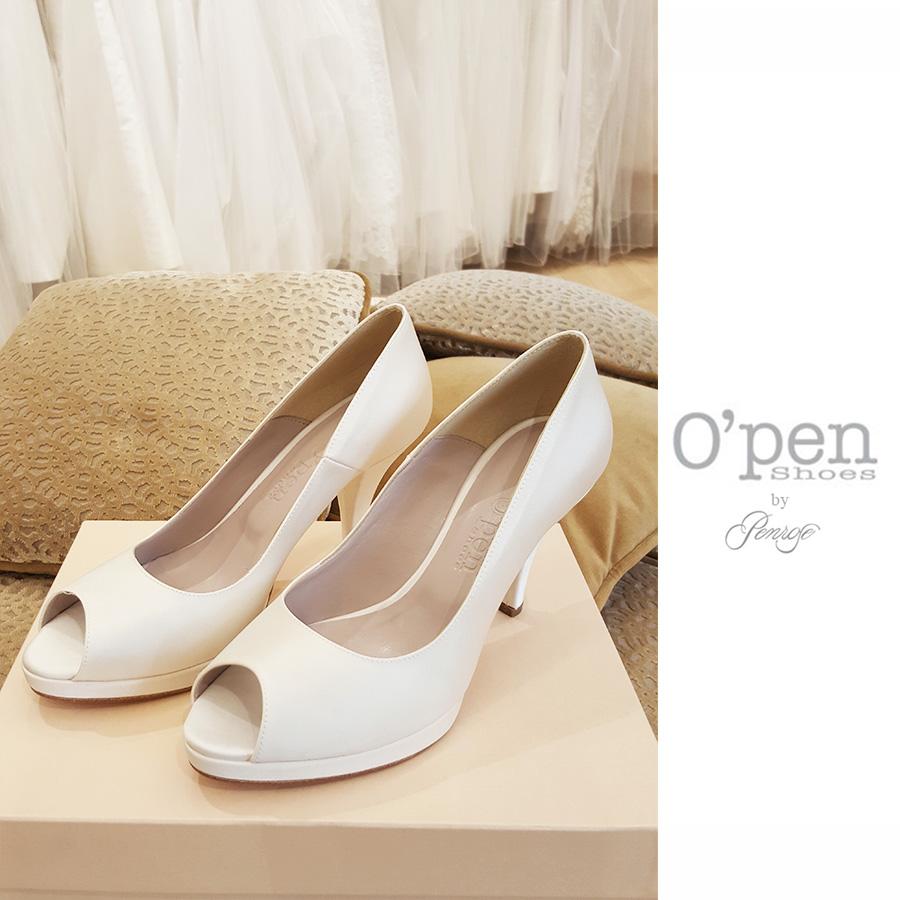 Scarpe Sposa Open.O Pen Shoes Maison Magic