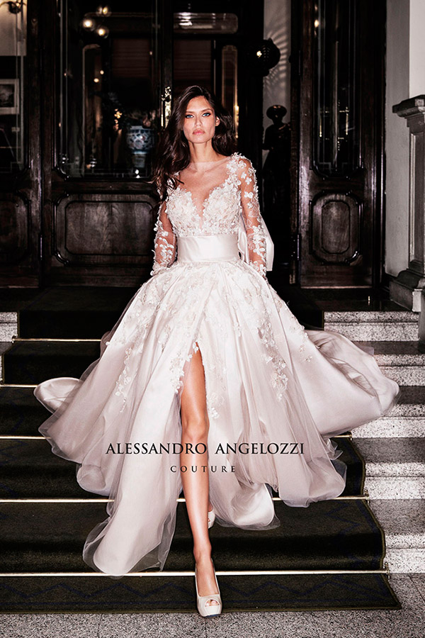 wholesale dealer f12ba 95d40 Alessandro Angelozzi Couture Collezione Sposa 2019 - MAISON ...